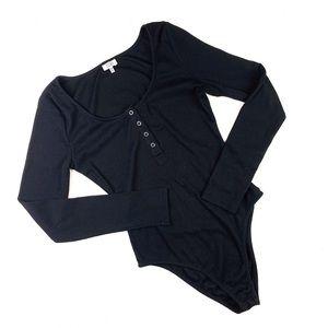 Tobi Other - Tobi // The Lover's Lane Black Bodysuit